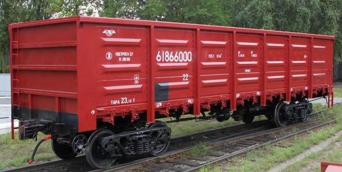 """1068 - """"Укрзалізниця"""" побудувала майже 120 вантажних вагонів"""